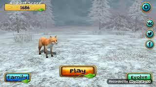 Симулятор лисицы#1- Полная семья лис.