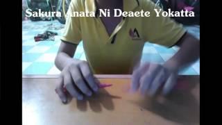 Sakura Anata Ni Deaete Yokatta-RSP - Cover pentapping By Seuil