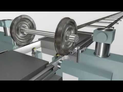 How Train Wheels Are Made