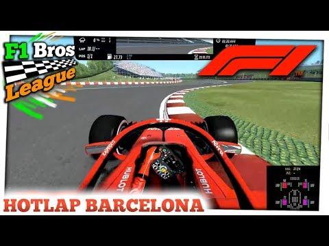 Ferrari HOTLAP in SPAIN | rFactor 2: F1 2018 Mod | F1 Bros League | Dorian