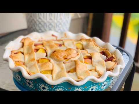 Fresh Peach Pie 🍑