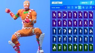MERRY MARAUDER SKIN SHOWCASE WITH ALL FORTNITE DANCES & EMOTES