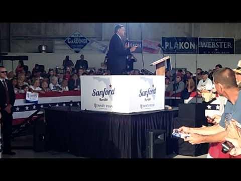 Mitt Romney- Sanford, FL 11/5/12, Mel Martinez and John Mica