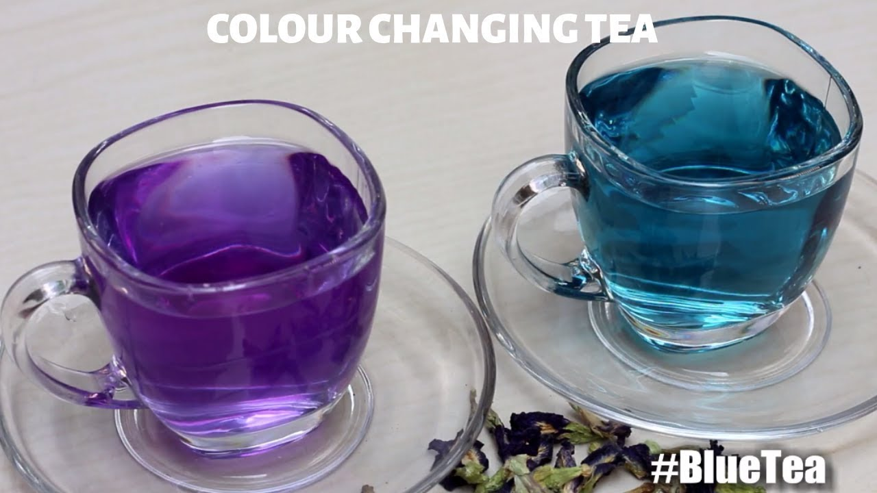 How To Make Colour Changing Tea Blue Recipe Erfly Pea