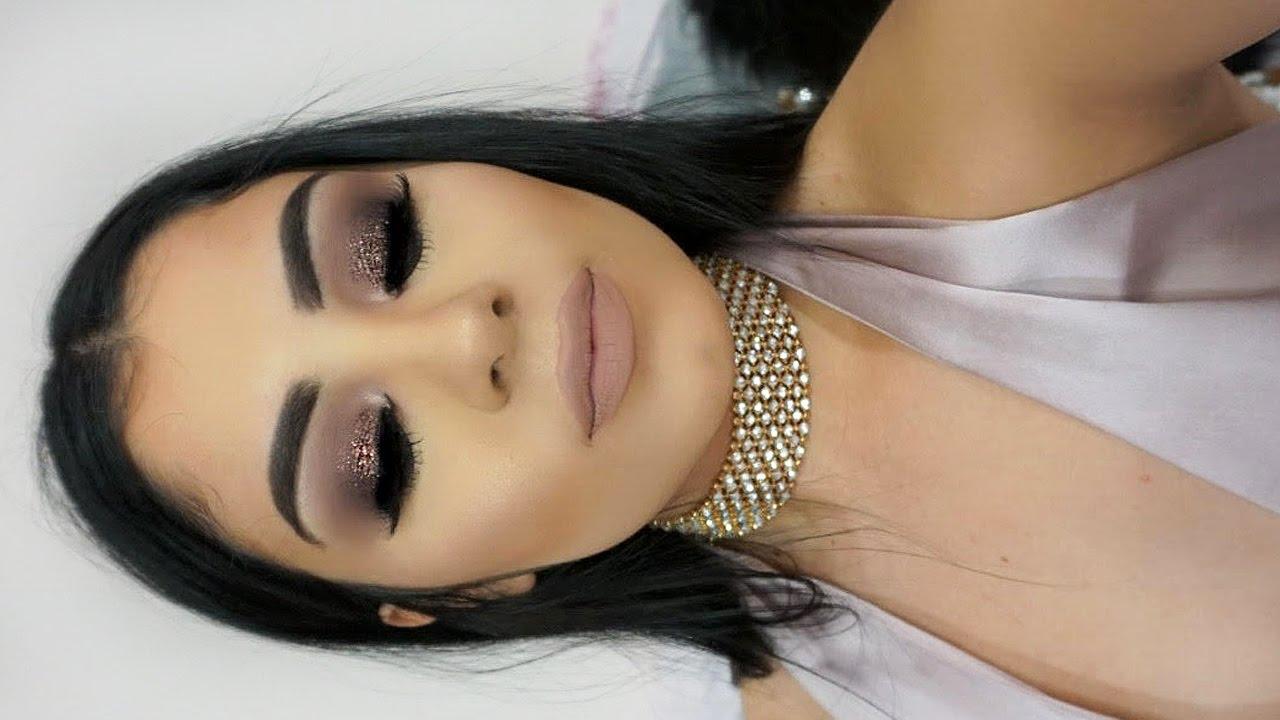 Bridal Eye Makeup 2017 Step By Step : New Years Eve Makeup Tutorial 2017 - YouTube