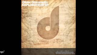 """Journey To The Center Of House (Original Mix)"" - Olivier Giacomotto - Definitive Recordings"