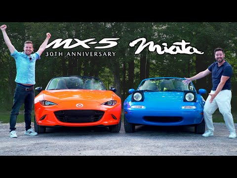 $40,000 Mazda MX-5 Vs $5,000 MX-5 // 30th Anniversary Meets NA Miata