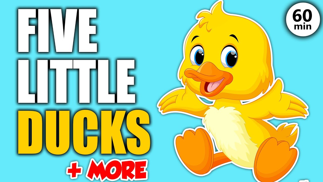 5 Little Ducks and More Learning Songs for Toddlers in English - Best Songs for Kids
