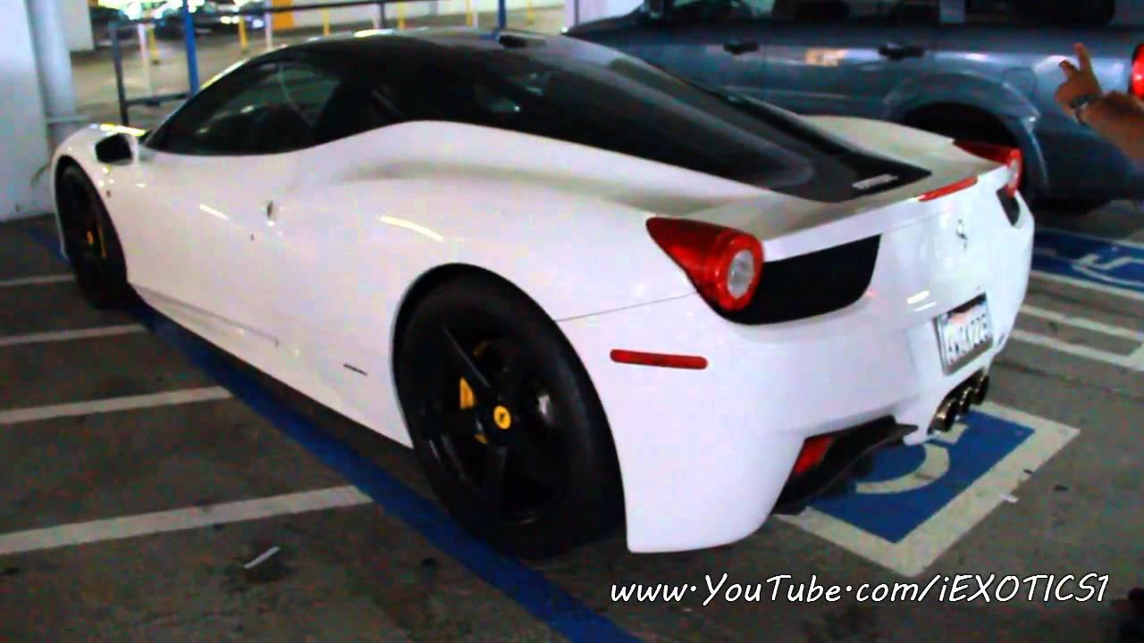 ferrari 458 black and white. ferrari 458 black and white t