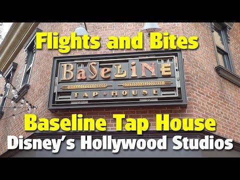 Flights and Bites at Baseline Tap House | Disney's Hollywood Studios