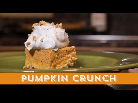 Homemade For The Holidays | Pumpkin Crunch
