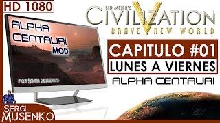 Civilization V gameplay Español Alpha Centauri MOD (Emperador) Capitulo 1
