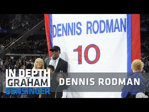 Dennis Rodman interview: My number shouldn't be retired in Detroit