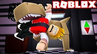 THERE'S A DINOSAUR IN THE ROBLOX ELEVATOR!