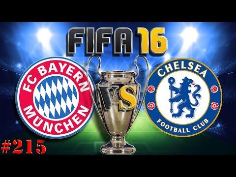 UEFA Champions League Final FC BAYERN vs FC Chelsea (Fifa 16 Trainerkarriere #215)