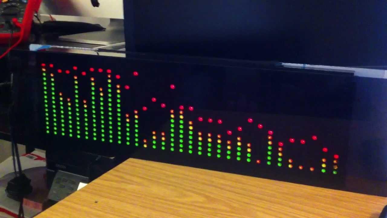 matrix test with spectrum analyzer