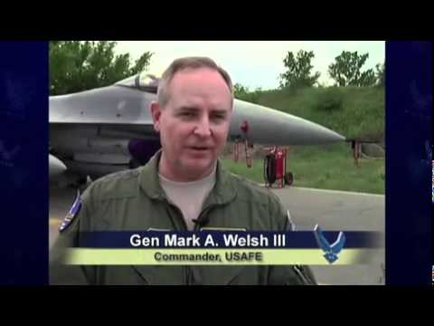 USAF pilots trained with Bulgarian pilots. Thracian Star 2012 report