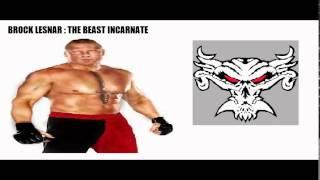 WWE SUPERSTAR NICKNAMES PRT 1