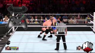 WWE 2K15 New Controls Trailer Is E-Sports Competitive Worthy