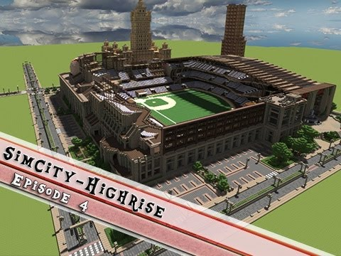 Minecraft SimCity High-rise 1930s - 1950s Project P4: The ...
