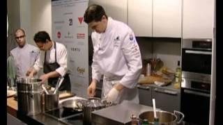 World Gourmet Summit 2010 Andrea Berton Culinary Masterclass, Chitarra Spaghetti