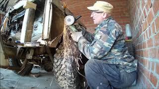 Капитальный ремонт УАЗ 31512. Часть 34. Продолжаю кузовной ремонт.