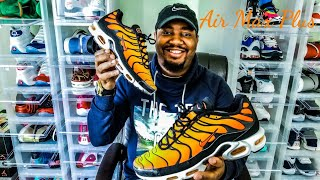 Air Max Plus OG Tiger / Sunset 2018 Review!!!!