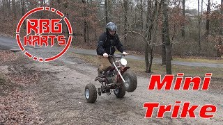 Mini Bike Trike Mud Riding ~ Mini Bike Monday
