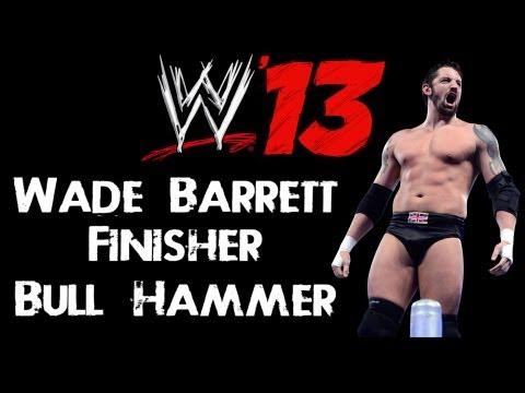 WWE 13 Tutorial - How To Make Wade Barrett Newest Finisher - Bull Hammer (720p HD)
