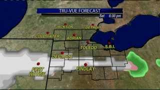 Saturday Evening Snow Marks the Return of the Cold