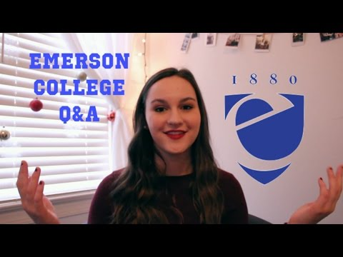 Emerson College: Questions Answered (from a freshman)