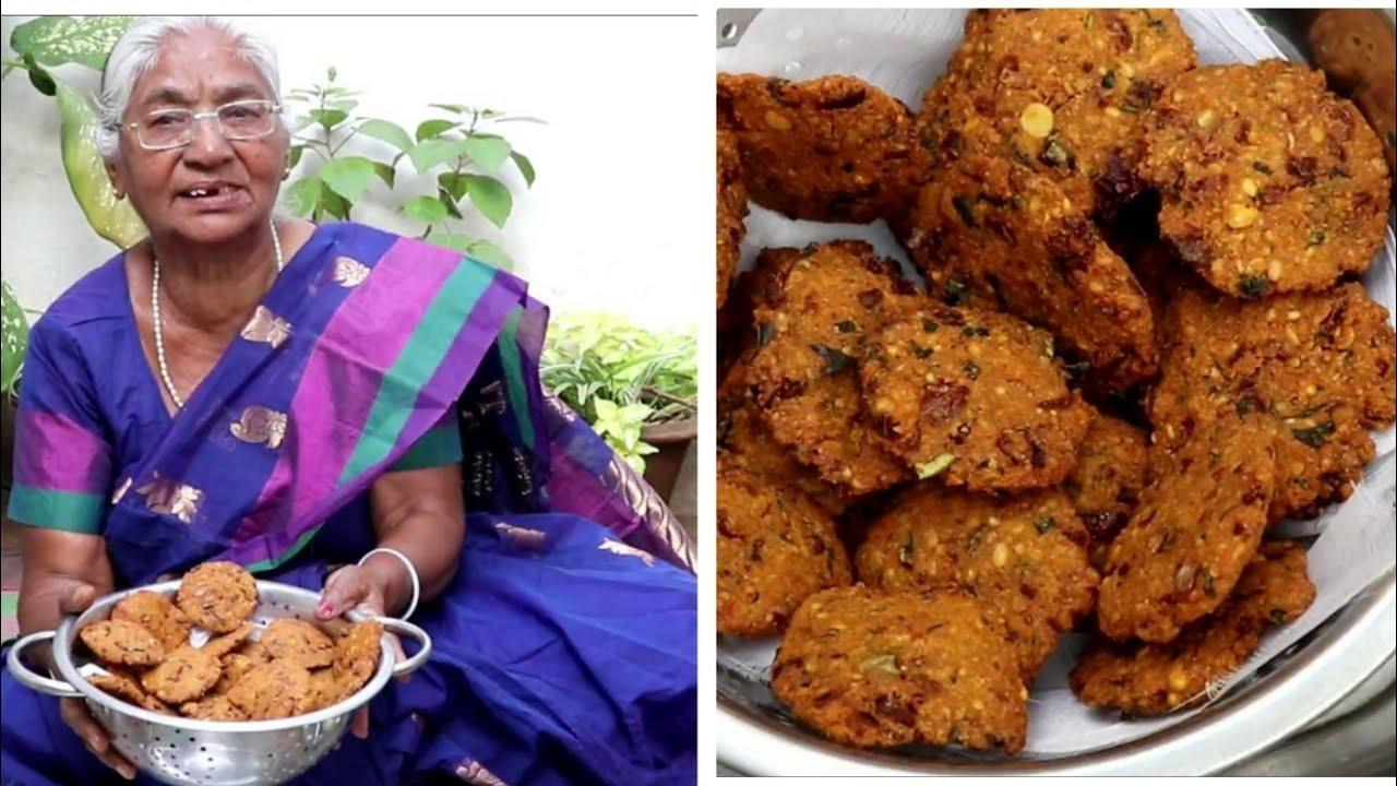 Indian Marathi Recipes : Chana Dal Vada Recipe ( चणा डाळ वडे )