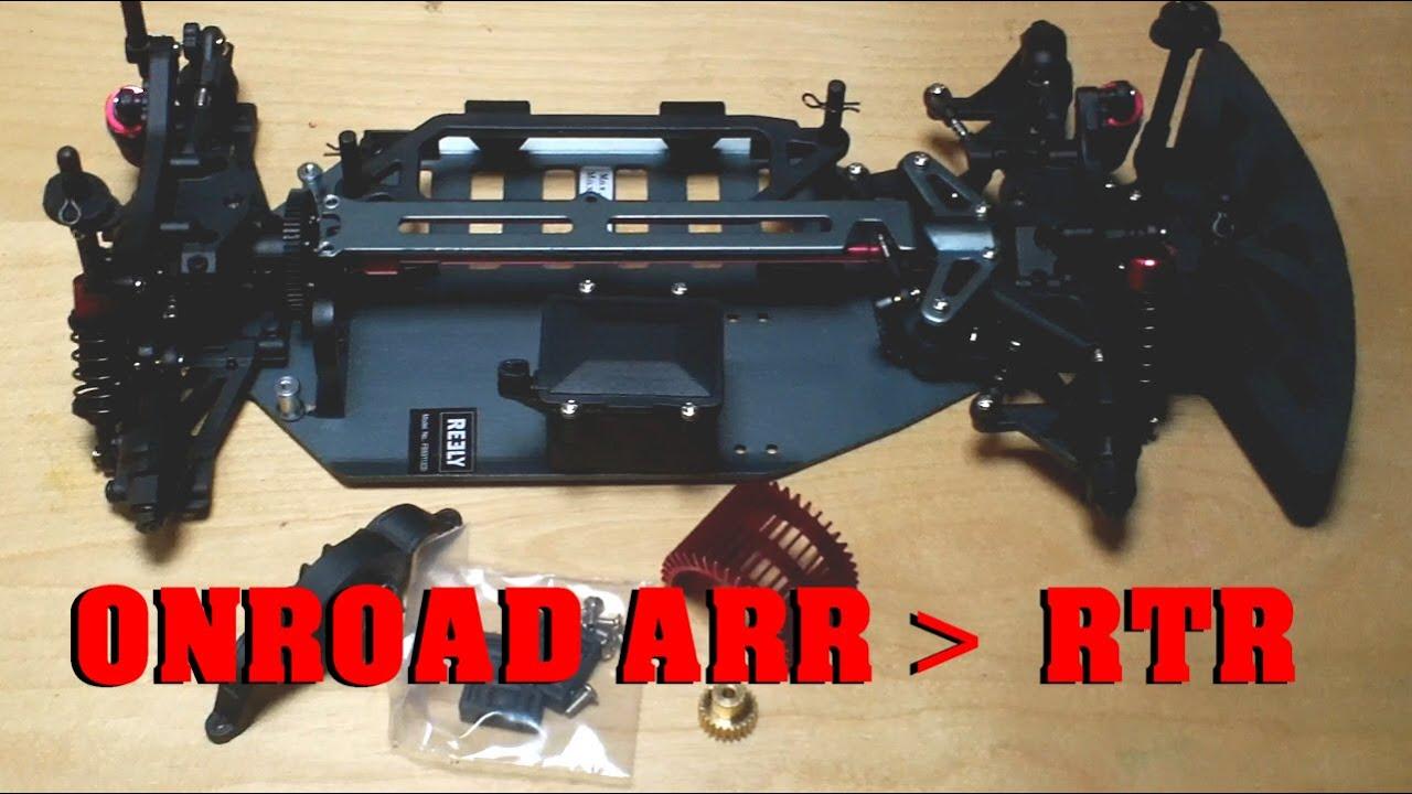 Onroad RC Car Elektronik bau - ARR zu RTR - 1:10 Glattbahner ...