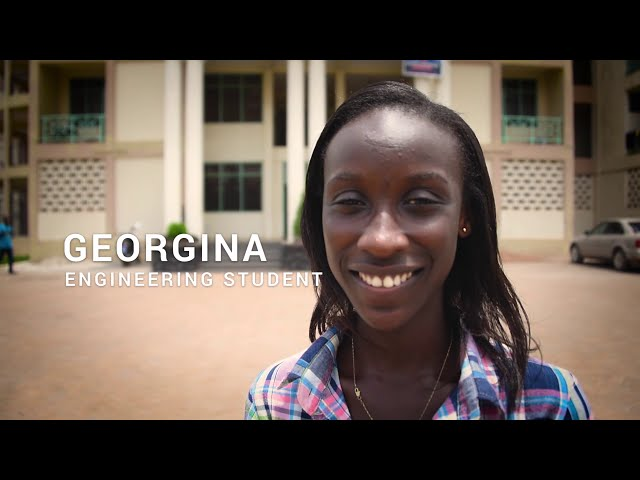 Georgina in Ghana is proving her math teacher wrong - Compassion International