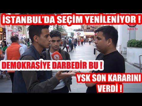 İstanbul'da Seçim Yenileniyor YSK Son Kararını Verdi ! Halk Ne Diyor ?