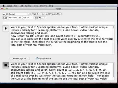 VoiceReader (LTS) Text To Speech App For Script Authors - Flagsoft