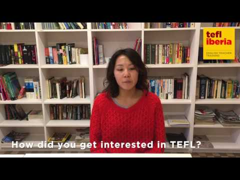TEFL Iberia graduate interview - Amy Wong