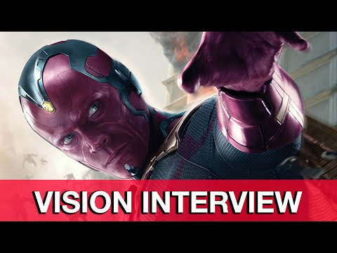 Avengers Age of Ultron Vision   Paul Bettany