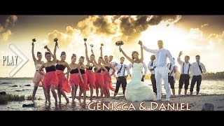 The BEST Mexico Destination Wedding Video - Genicca & Daniel