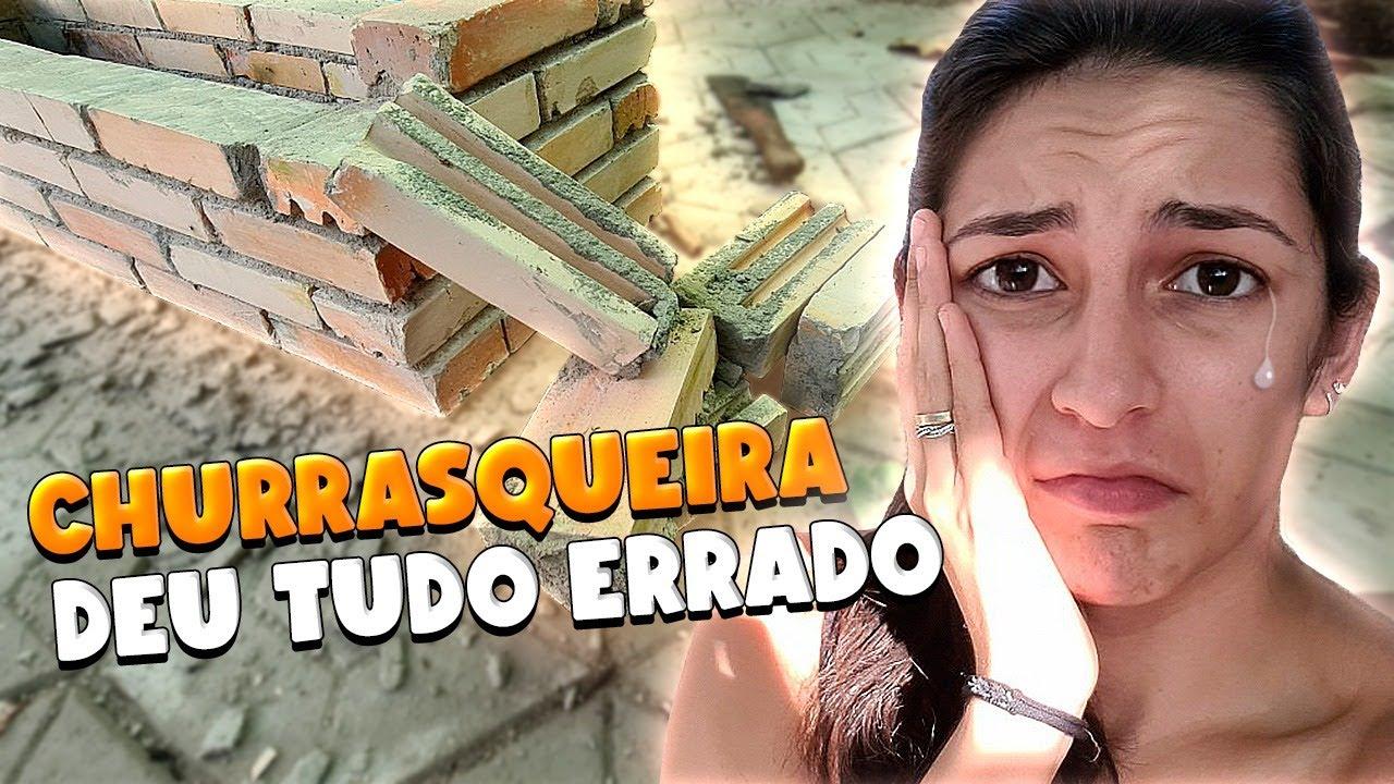 COMO FAZER CHURRASQUEIRA DE TIJOLO REFRATÁRIO - O RENASCIMENTO