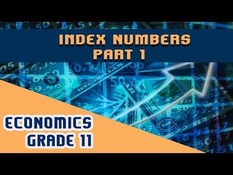 Statistics For Economics Chapter 12 | Part 1 | Index Numbers
