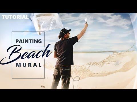 MURAL PAINTING | Sky Ceiling & Beach