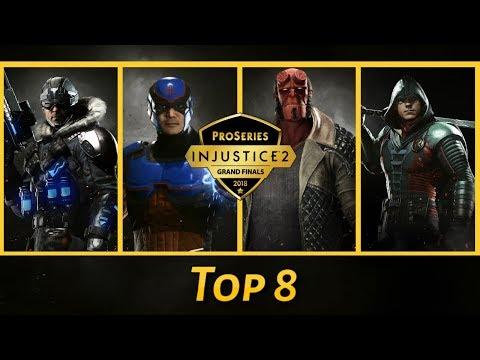 Injustice 2 Pro Series Finals 2018: SonicFox, Hayatei, Rewind, Sylverrye (Top 8)