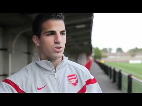 Nike Football mit Cesc Fabregas -Training mit CRT360 - YouTube 1554d82e7c
