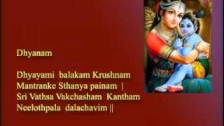 Santhana Gopala Krishna Mantra Part_2 By Krishna _ English