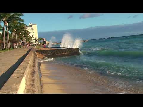 2-Oahu,Hawaii-USA Kalakaua Avenue Waikiki,Honolulu