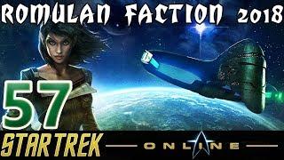 Let's Play Star Trek Online - Romulan Faction 2018 - [57] - A Gathering Darkness