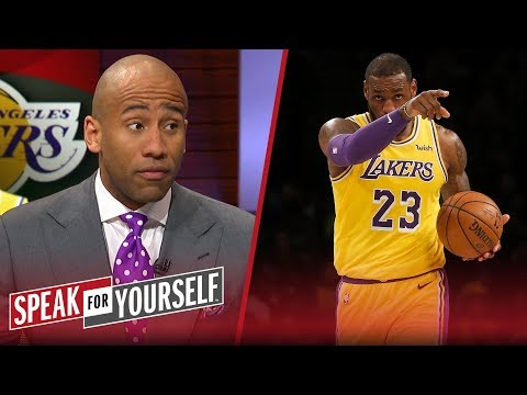 Dahntay Jones defends LeBron James' comments about claiming he's the GOAT | NBA | SPEAK FOR YOURSELF