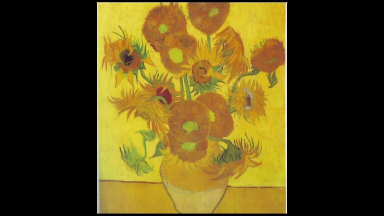 Vincent Van Gogh Sunflowers Montys Minutes YouTube