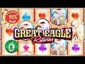 Great Eagle Returns 95% slot machine